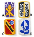US.ミリタリー、カラー部隊章ワッペン(新品)BRANCH−CN2