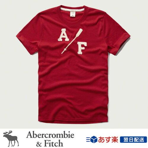 アバクロンビー&フィッチ 正規品 アバクロ Abercrombie&Fitch メンズ Tシャツ:Applique Graphic...