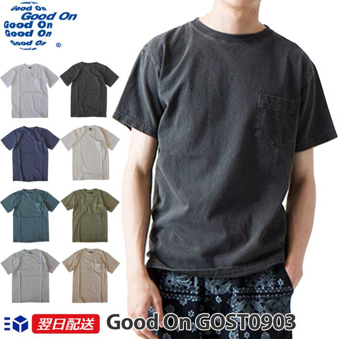 トップス, Tシャツ・カットソー Good On POCKET TEE 5.5oz T GOST09038