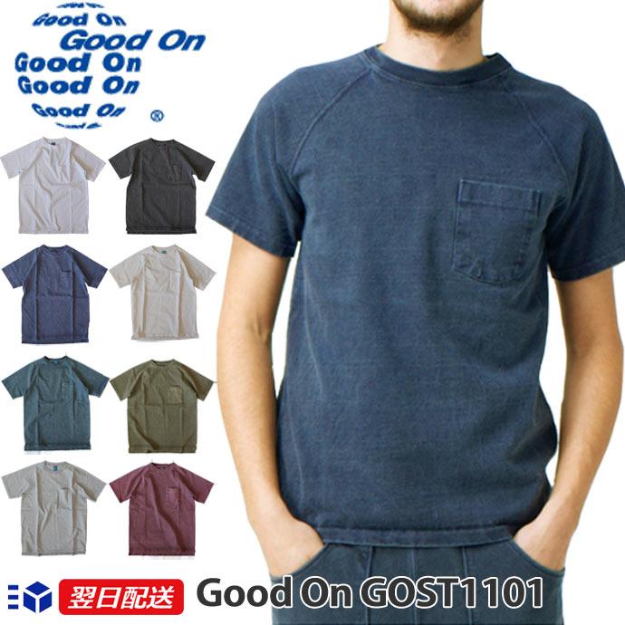 トップス, Tシャツ・カットソー Good On HEAVY RAGLAN POCKET TEE 9oz T GOST1101 8