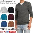ホリスター新作メンズ:セーター
