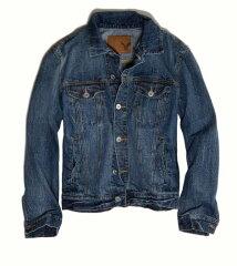 アメリカンイーグル/American Eagle/メンズ/デニムジャケット:AE Medium Denim Jacket
