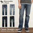 アバクロンビー&フィッチ 正規品 アバクロ Abercrombie&Fitch メンズ ジーンズ デニム ジーンズ:A&F Classic Straight Jeans《4色》