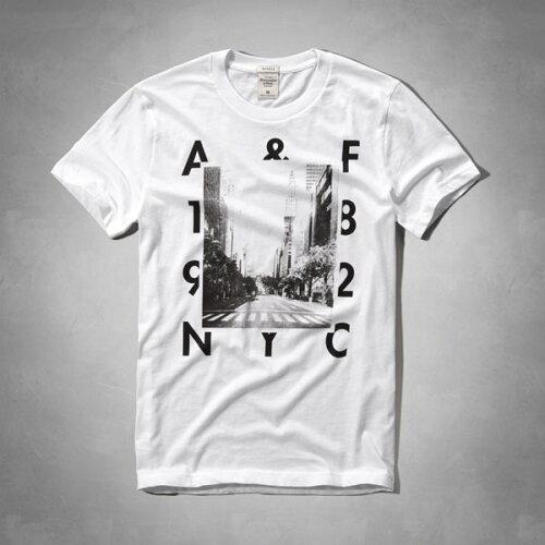 アバクロンビー&フィッチ 正規品 アバクロ Abercrombie&Fitch メンズ Tシャツ:Logo Graphic Tee...