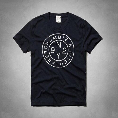 アバクロンビー&フィッチ 正規品 アバクロ Abercrombie&Fitch メンズ Tシャツ:Modern Logo Grap...