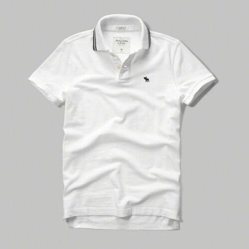 アバクロンビー&フィッチ 正規品 アバクロ Abercrombie&Fitch メンズ ポロシャツ:Pop Icon Polo...