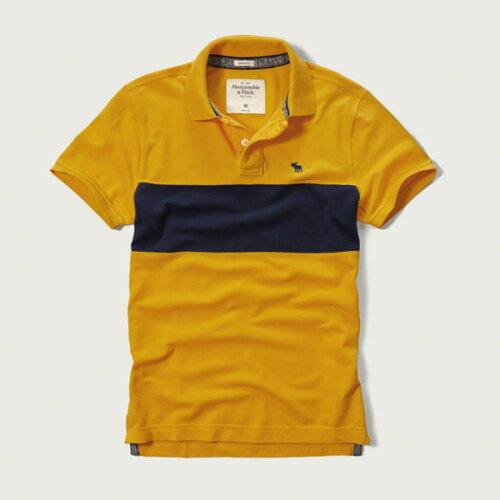 アバクロンビー&フィッチ 正規品 アバクロ Abercrombie&Fitch メンズ ポロシャツ ボーダー柄ポロ...