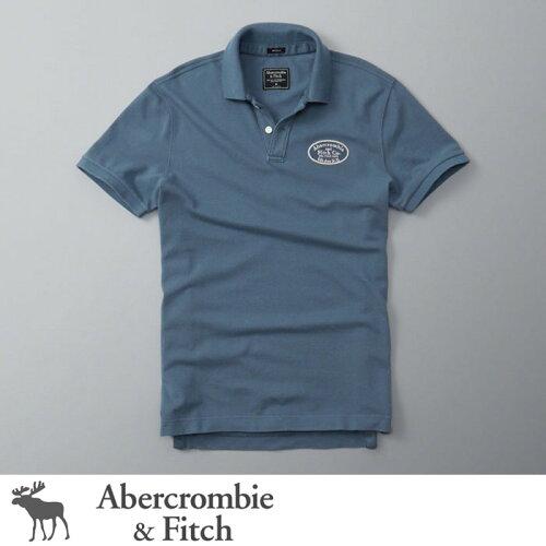 アバクロンビー&フィッチ 正規品 アバクロ Abercrombie&Fitch メンズ ポロシャツ:Logo ...