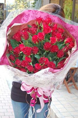 【送料無料】真っ赤なバラ70本花束【smtb-TK】【west2_1101_point】【_メッセ入力】