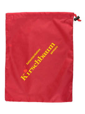 【500円均一】【よりどり5個で送料無料】Kirschbaum(キルシュバウム)シューズ袋レッドKB-50-R【定番】●●