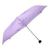 【雨傘】【子供傘】sanrio(サンリオ)キッズ・ジュニアHello Kitty(ハローキティ)アンブレラフェイス50cm 折りたたみ傘 Lパープル18350【16★】