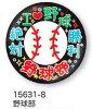 【よりどり10個で送料無料】部活カンバッジコレクション缶バッジ野球部15631-8【卒業】【定番】●●