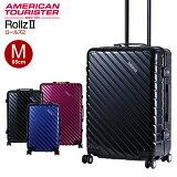 アメリカンツーリスター サムソナイト スーツケース ソフト Samsonite [Rollz2・ロールズ2・15Q*005] 65cm 【Mサイズ】【キャリーバッグ】【送料無料】【キャリーケース】