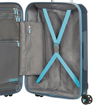 AMERICAN TOURISTERのスーツケース 内装