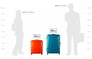 スーツケースサムソナイトSamsoniteアメリカンツーリスター[Crystalite・クリスタライト]Spinner50cm/18【Sサイズ】【キャリーバッグ】【送料無料】【軽量】【スーツケース】【サムソナイト】【機内持ち込み】海外旅行