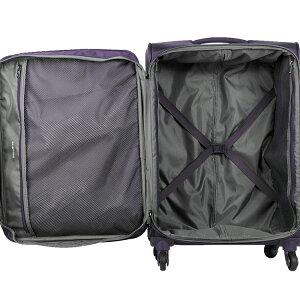 スーツケースサムソナイトSamsonite[Asphere・アスフィア]66cm【Mサイズ】【キャリーバッグ】【送料無料】【ソフトキャリー】【サムソナイト】海外旅行