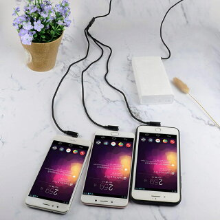 【USB両面挿入可能】3in1充電ケーブル急速充電iPhoneXRXSMAXmicroUSBType-ケーブルL字型スマホケーブル一本三役AndroidXperiaAQUOSGalaxyHUAWEI3A1.5m送料無料