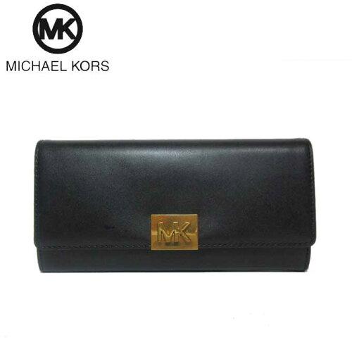 online retailer a3c75 c0aae マイケルコースアウトレットMichael Kors 財布35H8ATZE3L MK ...