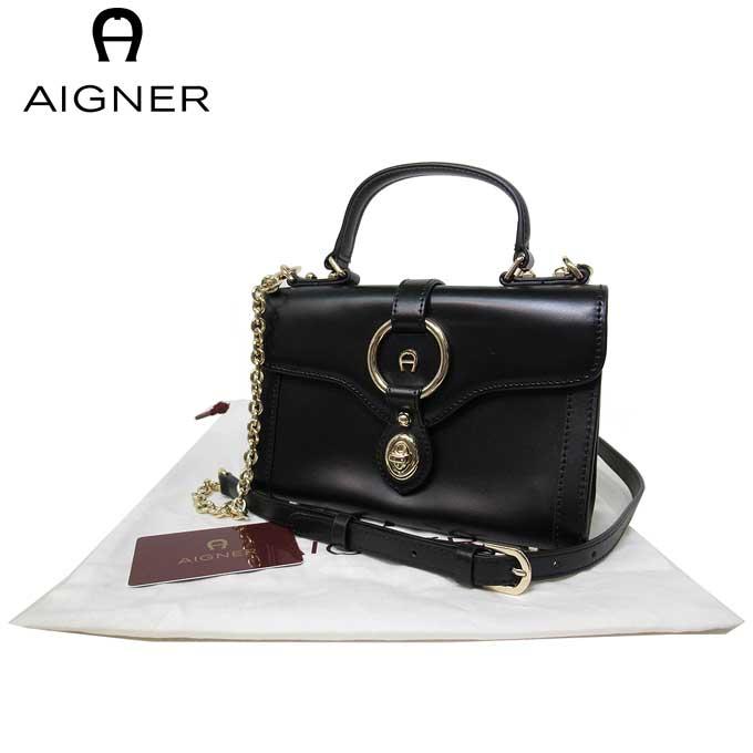 レディースバッグ, ショルダーバッグ・メッセンジャーバッグ  AIGNER 135349-002 A Black