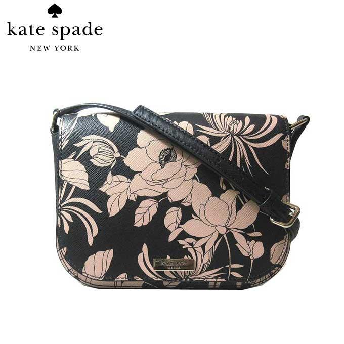 レディースバッグ, ショルダーバッグ・メッセンジャーバッグ 10OFF kate spade WKRU5795 large carsen laurel way gardenia blackmulti(098):