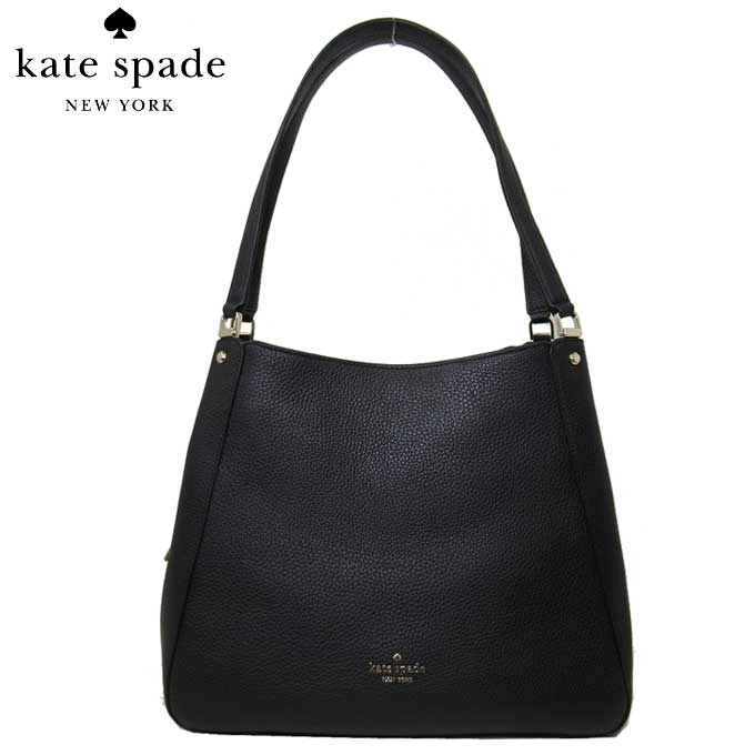 レディースバッグ, ショルダーバッグ・メッセンジャーバッグ  kate spade WKR00344-001 med trpl compt shoulder bag black(001):