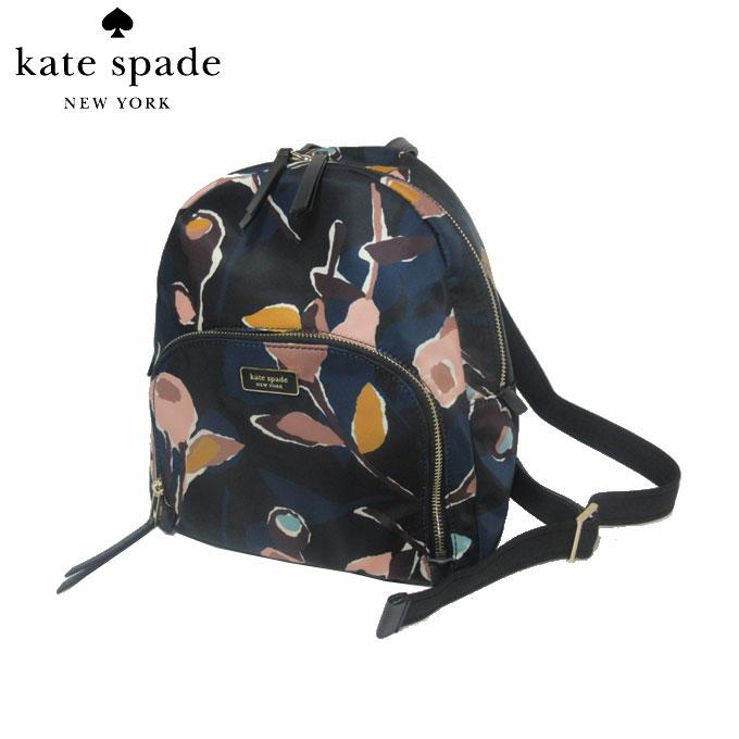 レディースバッグ, バックパック・リュック  kate spade WKRU5997-098 medium backpack dawn paper rose blackmulti(098):RCP