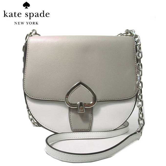 レディースバッグ, ショルダーバッグ・メッセンジャーバッグ 10OFF kate spade WKRU6545-141 medium chain saddle bag robyn opticwhtmu(141)
