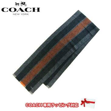 コーチ アウトレット COACH アパレル F86547 バーシティ スポーツ スカーフ マフラー FAZ(Orange/Fog)【メンズ】 【RCP】【楽天カード分割】【レディース】