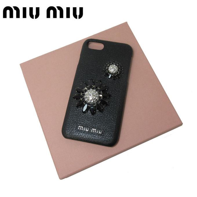 財布・ケース, レディース財布  miumiu 5ZH035 iPhone 6 6S 7 MADRAS FLOWERS NERORCP0815s-mail03