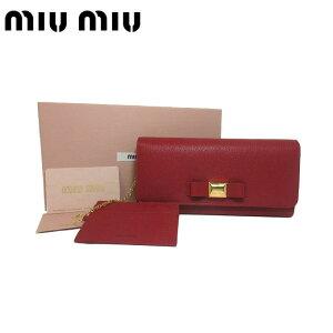 competitive price e42a9 67019 ミュウミュウ(MIUMIU) レディース長財布 | 通販・人気ランキング ...