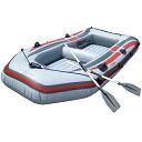 \送料無料/ボート ゴムボート 4人乗り ゴムボート オール2本セット PVC プラスチック 最大積載350Kg ファミリーサイズ###4人乗りゴムボート236☆###