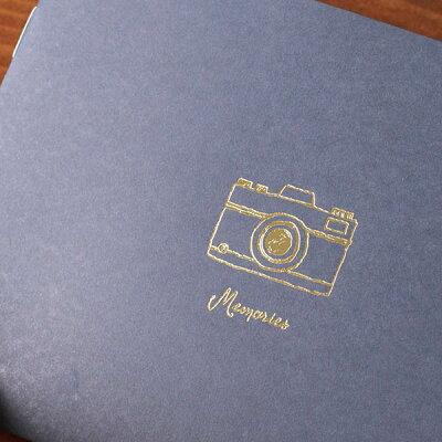 ハブファンポケットアルバム封筒付き(カラー:レッドピンクイエローネイビーホワイト)《おしゃれ/大人/かわいい/可愛い》【思い出特集】