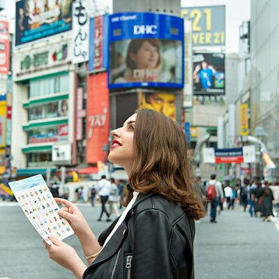 【楽天ランキング2位入賞】おさんぽBINGO東京TOKYO(お散歩ビンゴ・おさんぽビンゴ・フィールドビンゴ)【ブンケン】《おしゃれ/大人/かわいい/可愛い》