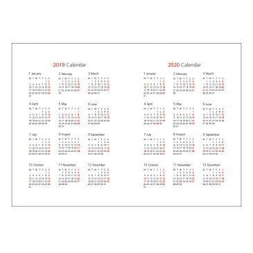(302)2019年ダイアリー リフィル【2019年1月始まり】B6マンスリー おしゃれ かわいい【無料ラッピング対象外】【20thアニバーサリーキャンペーン】