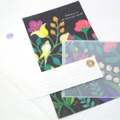 透明の封筒から透ける鮮やかな世界starlab MIA/レターセット(08)