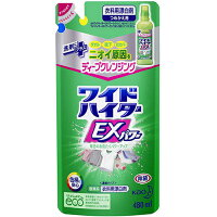 【花王】ワイドハイターEXパワー漂白剤詰め替え(480ml)【4901301289605】