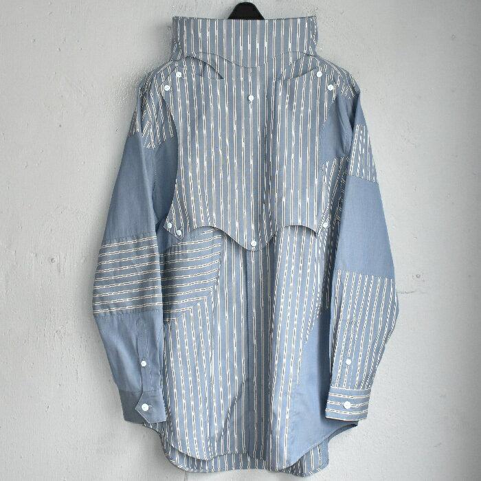 トップス, カジュアルシャツ blackmeans hi-neck multi shirts