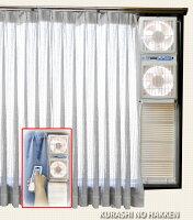 高須産業製ウィンドツインファン窓用換気扇FMT-200Sウインドファン
