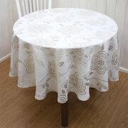 テーブルクロス テーブル ボタニカル ジャカード パケット