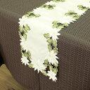 テーブルランナー 北欧のテーブルランナー テーブルセンター エレガント 新居祝い おしゃれ リネン 木柄