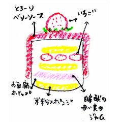 ビーガン&低糖質 Xmasケーキ『とろ〜りベリーソースのお豆腐ショートケーキ・キット』10センチ(2〜4人用)