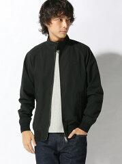 Lacoste Short Cotton Nylon Zip Jacket BH115EL: Black