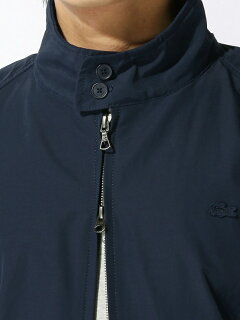 Lacoste Short Cotton Nylon Zip Jacket BH115EL: Blue