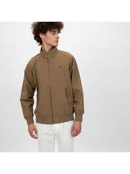 Lacoste Short Cotton Nylon Zip Jacket BH115EL: Beige