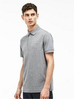 Paris Edition Regular Fit Stretch Pique Polo PH5522L: Grey