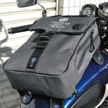 ACE CAFE LONDON タンク&バックパック 吸盤式タンクバッグ 2WAY 多機能 バイク用品 ツーリング レディース エースカフェロンドン