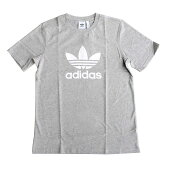 アディダスTシャツトレフォイルTシャツAdidasOriginalsメンズショートスリーブグレーヘザーメンズTシャツS/M/L/XLcy4574