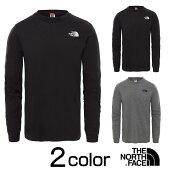 ノースフェイスロングTシャツメンズTHENORTHFACEシンプルドームロングTシャツブラックS/M/L/XLnf0a3l3b