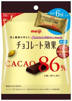 明治チョコレート効果86%小袋6枚×10