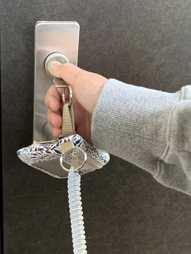 レディーバグキッズ『LIBERTYパスケース&キーケース+財布』